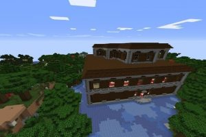 Flooded Mansion Seed