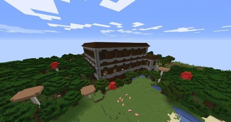 Flooded Mansion Seed Screenshot