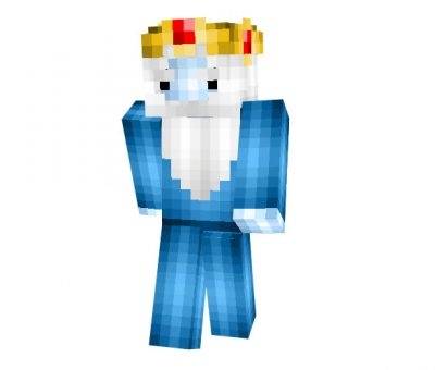 Ice King (Adventure Time) Minecraft Skin