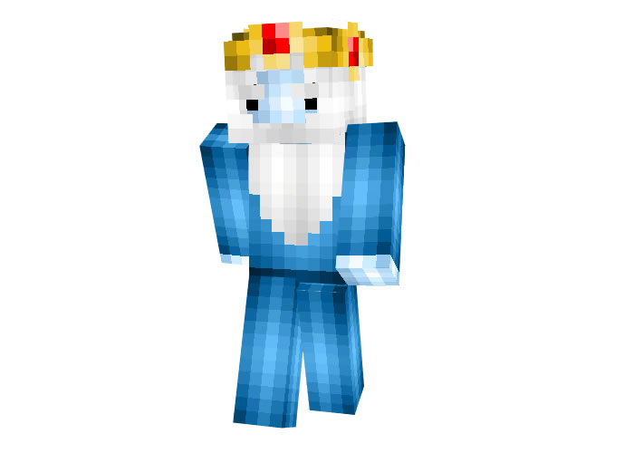 Ice King (Adventure Time) Minecraft Skin