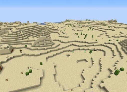Incredible Desert Minecraft 1.14.4 Seed