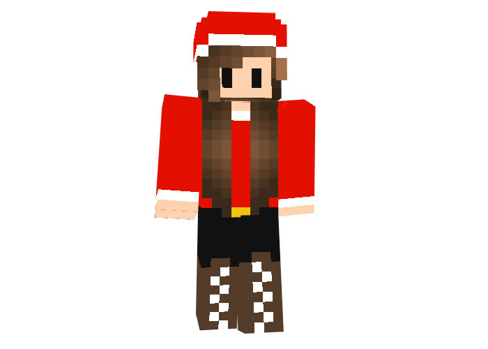Jennabuster17 | Minecraft Christmas Skins for Girl