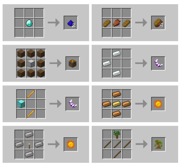 MK Ultra Mod Recipes