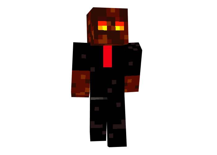 Magma Cube Fot a Job | Minecraft Mob Skins