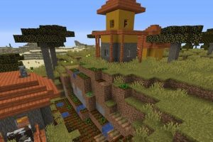 Mansion and Four Villages Seed 1.14.4