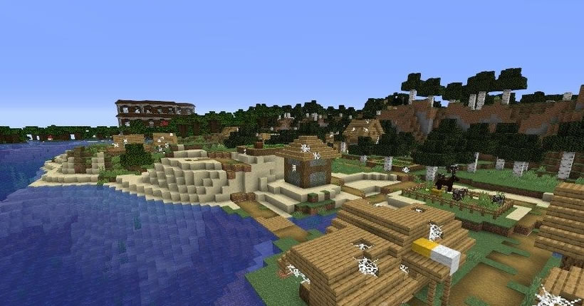 Mansion and Four Villages Seed Screenshot 3