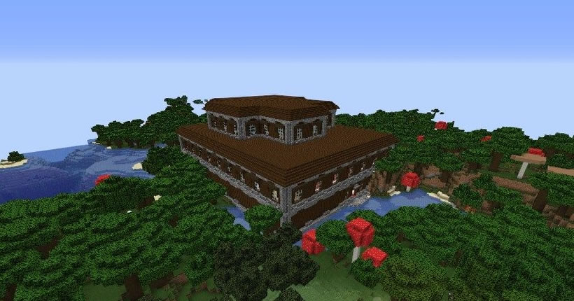 Mansion and Four Villages Seed Screenshot 4