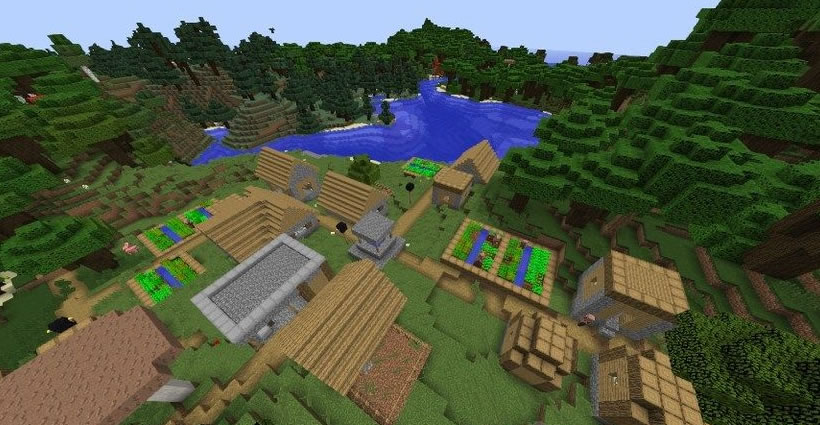 Many Villages Seed Screenshot 2