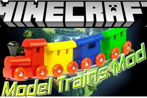 Model Trains Mod for Minecraft