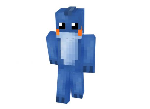 Mudkip (Pokemon) Minecraft Skin