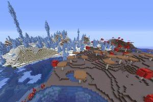 Mushroom Islands And Icepeaks Seed