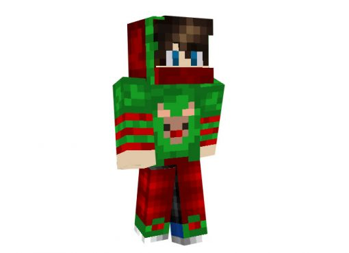 NathanDoesMC (Christmas Suit) | Minecraft Christmas Skin