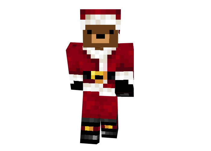 TheGamer659 (Christmas Bear) Minecraft Skin