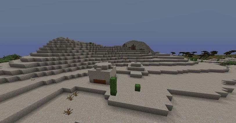 Three Pyramids Seed Screenshot 2