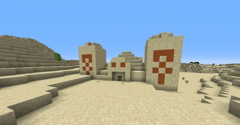 Three Pyramids Seed Screenshot