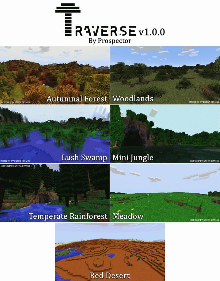 Traverse Mod Screenshot