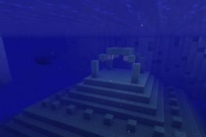 Underwater Fortress Among Icebergs Seed 1.14.4