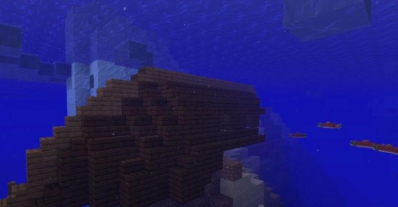 Underwater Fortress Among Icebergs Seed Screenshot 3