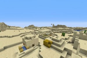 Village With Hidden Temple Seed for Minecraft 1.14