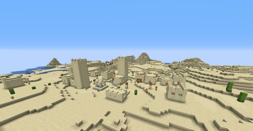 Village With Hidden Temple Seed Screenshot