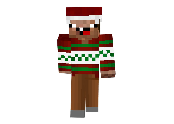 halo0011 | Minecraft Christmas Skins for Boys