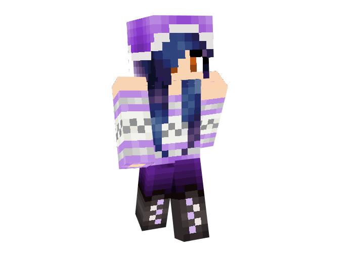 hayleygrace Skin   Minecraft Christmas Skins for Girls