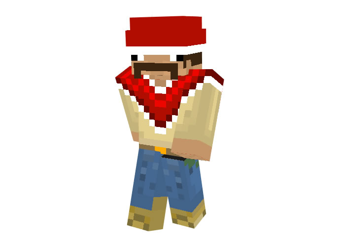 mr_tacoman (Mexican) | Minecraft Christmas Skins for Boys
