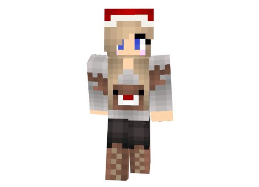 wizzy375 | Minecraft Christmas Skins for Girls