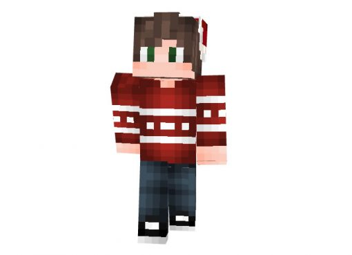 12robo Skin   Minecraft Christmas Skins
