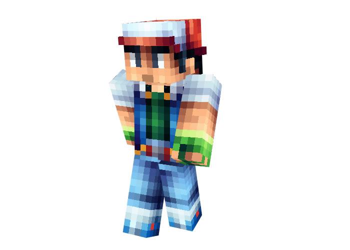 Ash Ketchum (Pokemon) Skin