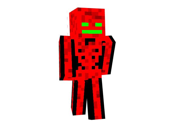 Blood Skeleton Skin