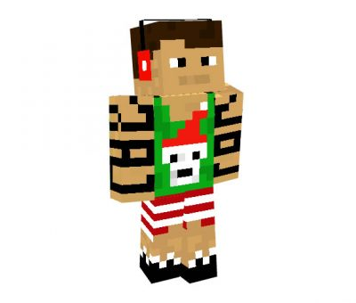 Bowerzz Skin | Minecraft Christmas Skins for Boys