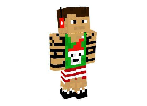 Bowerzz Skin | Minecraft Christmas Skins for Boys