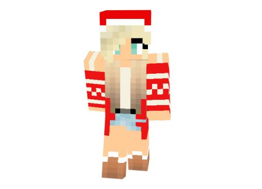 CanadianYoda Skin   Minecraft Christmas Skins for Girl