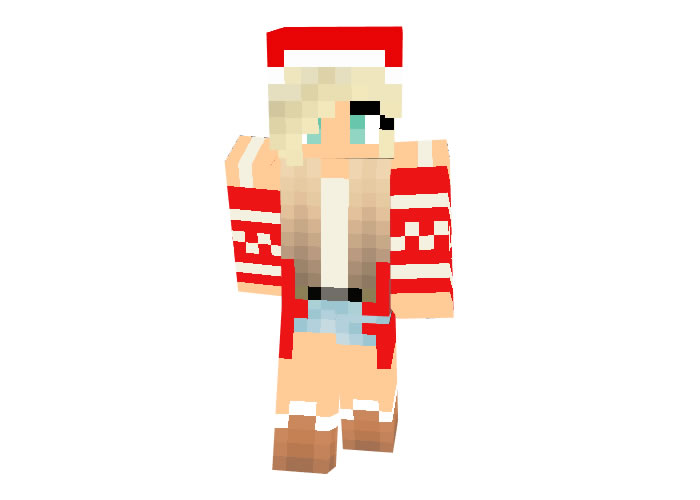 CanadianYoda Skin | Minecraft Christmas Skins for Girl