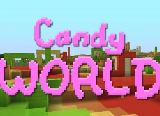 Candy World Mod (Three New Sweet Biomes)