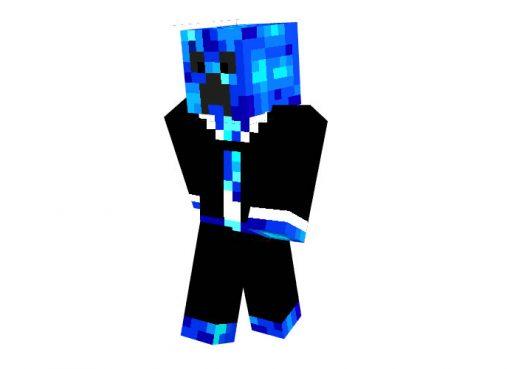 Cold Lava Mob Skin for Minecraft