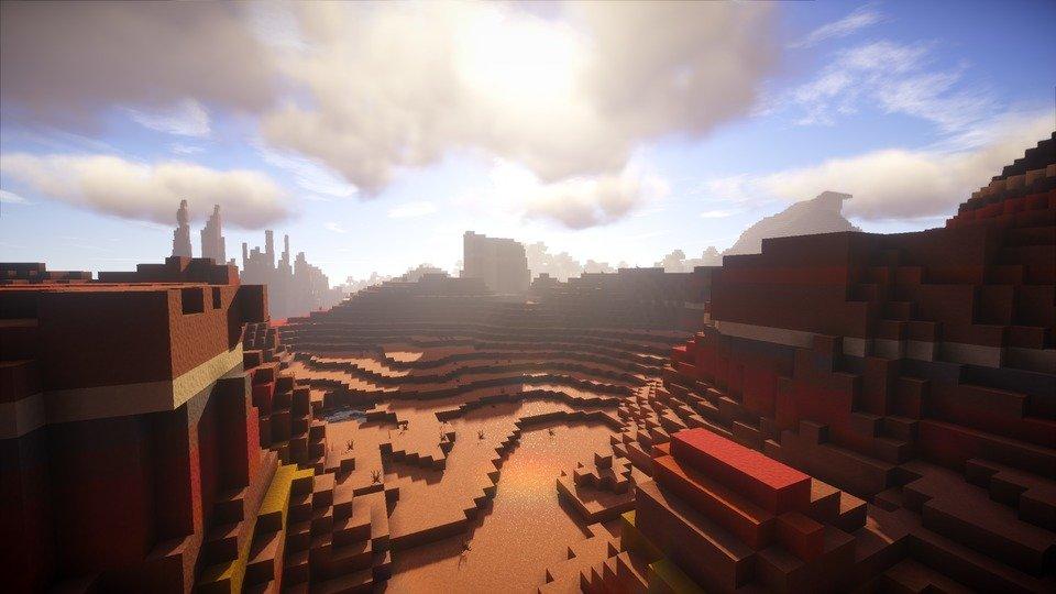 Continuum Shaders Screenshot Desert