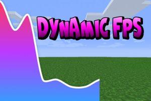 Dynamic FPS Mod for Minecraft