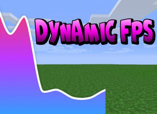Dynamic FPS Mod for Minecraft