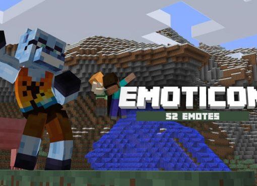 Emoticons Mod (Dance in Minecraft)