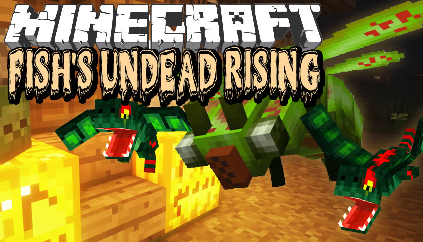 Fish's Undead Rising Mod for Minecraft