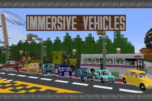 Immersive Vehicles Mod