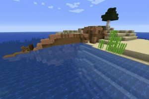 Island With A Ship And Monument Seed for Minecraft 1.15