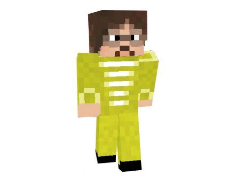 John Lennon Skin for Minecraft [64x64]