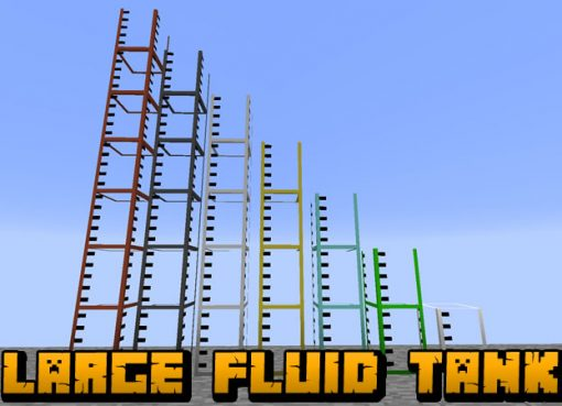 Large Fluid Tank Mod for Minecraft