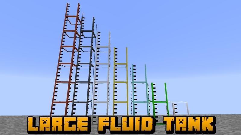 Large Fluid Tank Mod for Minecraft