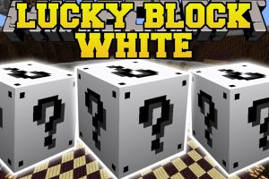 Lucky Block White Mod for Minecraft