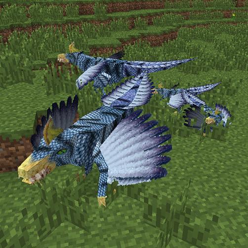 Lycanites Mobs Mod Screenshot Ventoraptor