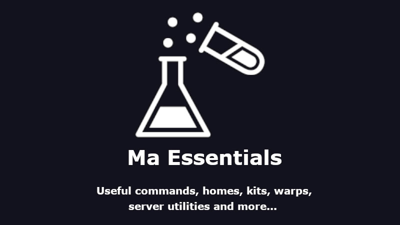 Ma Essentials Mod for Minecraft